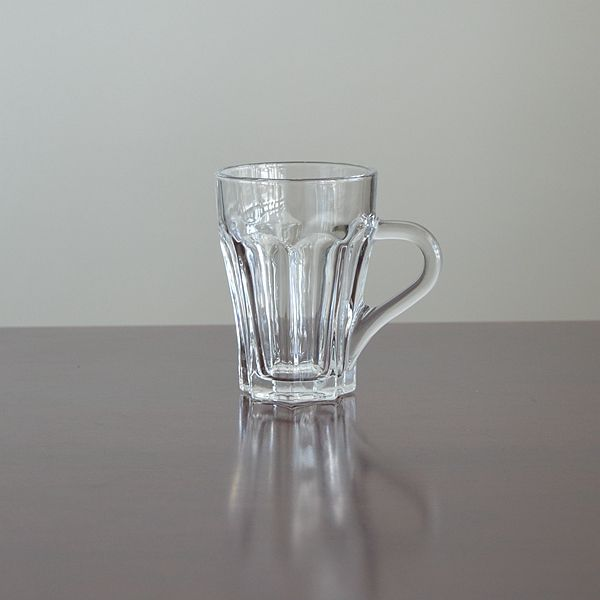 Crystal glassware eco-Friendly glass tea cup from glass cup manufacturer