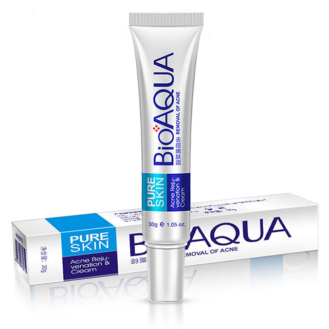 30g OEM/ODM BIOAQUA removing beverage cream Pimple acne Moisturizer Acne Scar Treatment Face Whitening Cream