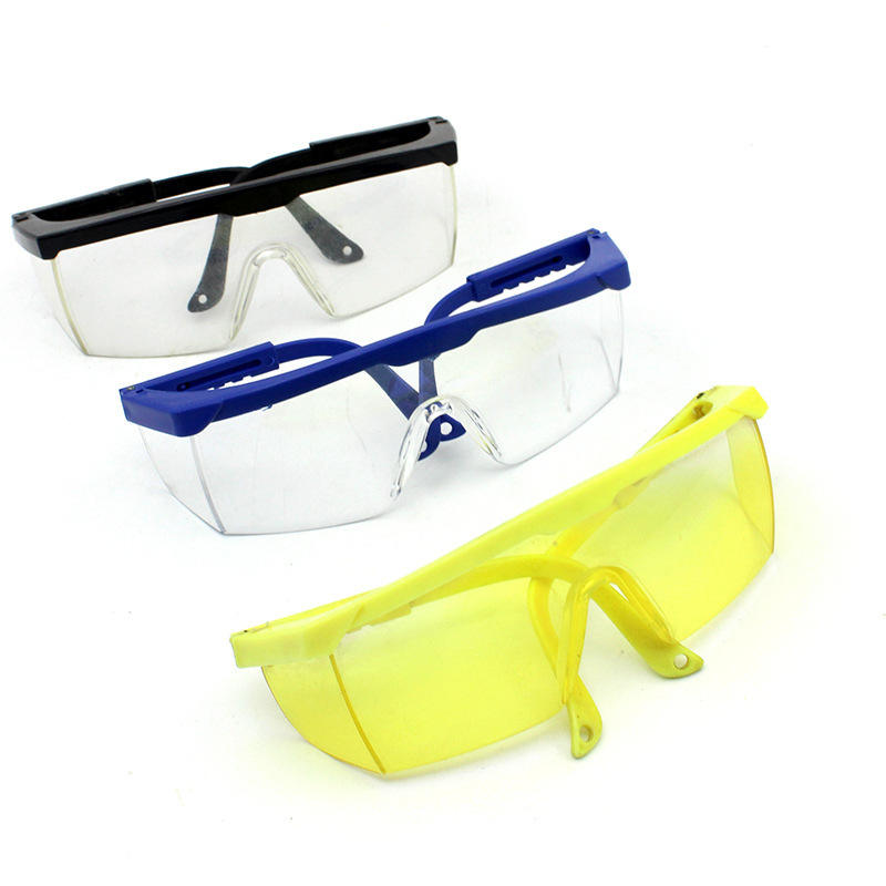 plastic protective garden safety glasses PC materials protective safety glasses