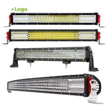 "Combe Aurora 12V 24 Volt 4X4 8D 4 Quad 12D 22"" 32 42 52 50 Inch Truck Car 4 Row Led Light Bar"