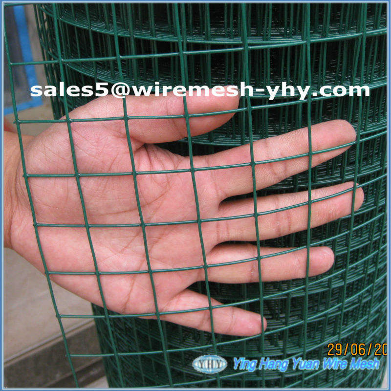 Plastic Welded Square Wire Mesh 3x3