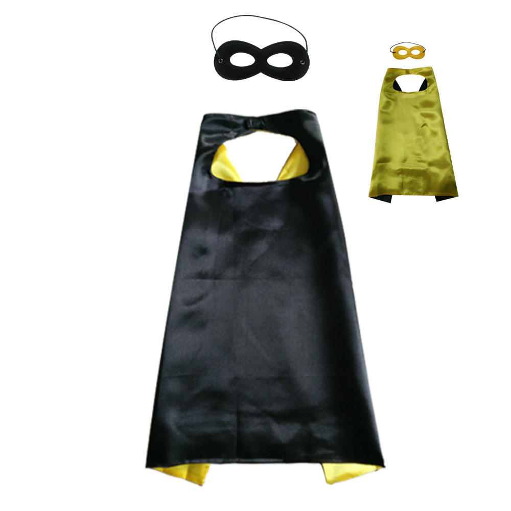 Children kids halloween christmas super hero custom printed capes