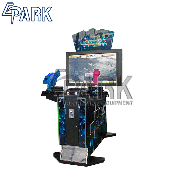 42 inch Ultra firepower 3 in 1 japanese games 4d shooting arcade game machine for sale