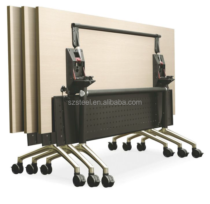 Mobile Meeting Tables conference room table Folding Training Table