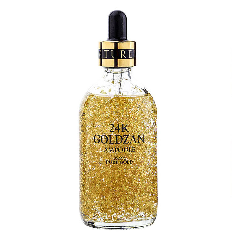 OEM Anti Aging Anti Wrinkle Natural 24K Gold Face Serum
