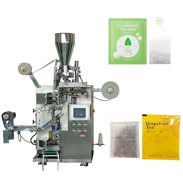 Automatic measuring cup triangle tea bag packing machine