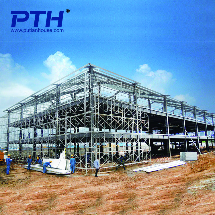 High quality steel structure modular prefabricated hotel building