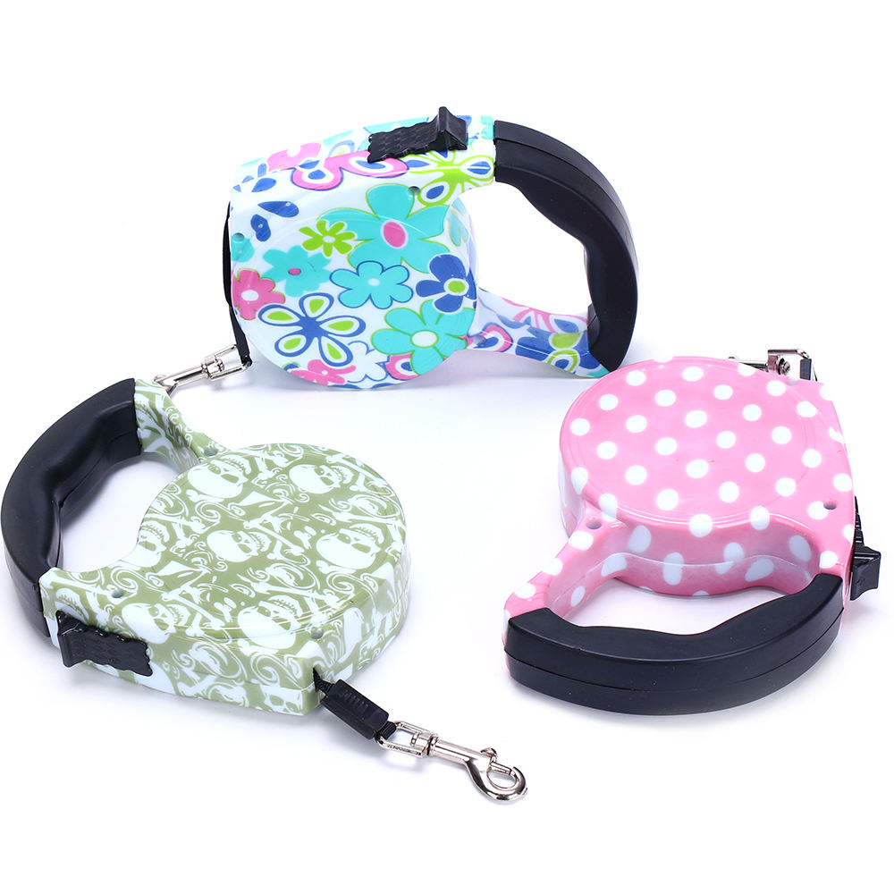 Retractable spring for dog leash lighter pet with Factory Price Wholesale