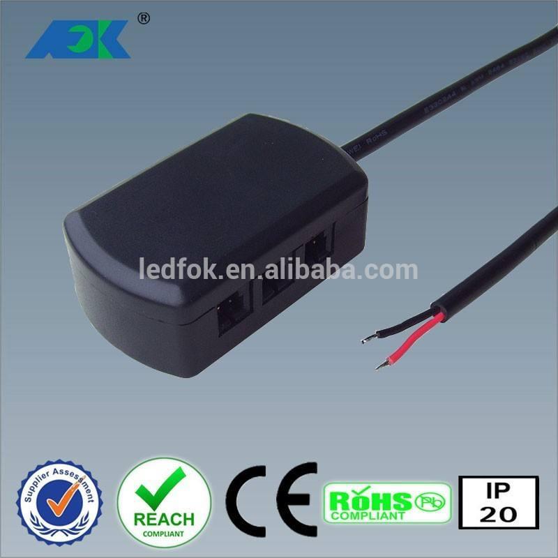 ruotare e girevole ha condotto riflettori 24v l806 sistema di connessione 6 modo distributore led connettori