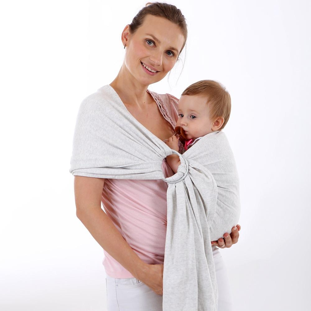 Baby Wholesale Baby Wrap Carrier Sling For Newborn Luxury Ring Sling Baby Carrier More Colors Available Wrap Sling