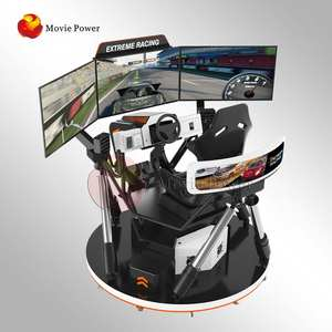Earn money super racing car game f1 6 dof racing simulator 4d racing car driving arcade simulator game machine for vr theme park