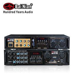 PRO Sound Audio Karaoke System-Karaoke Amplifier(Stereo Mixer Receiver Mini BT Home Amplifier)for PA Speaker Home Theater Studio