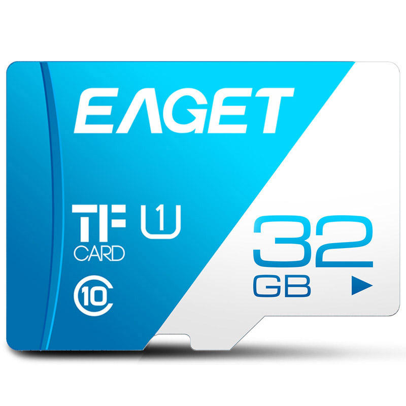 EAGET mini sd memory card 8gb/16gb/32gb/64gb/128gb/256gb class 10 tf card for Samsung android phone case tablet sd card