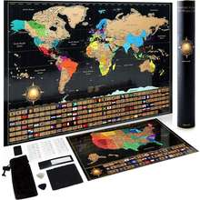 Scratch Off Map Custom Design Big World Map Scratch Black Travel World Map Scratch