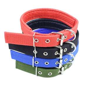 Hot Wholesale Nylon Dog Collar Leash Led Log Collar