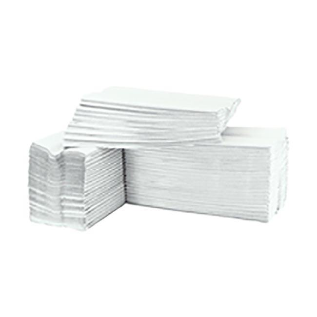 High Quality Virgin Pulp Interfold Hand Paper Towel, White 2 ply (200 per Pack, 20 per Carton)