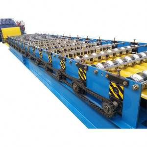 metal roofing steel profile sheet wall panel making forming machine