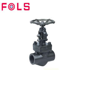 Hand Wheel Socket Weld /Screwed 2 inch Forged Steel Globe Valve