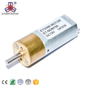 16mm 6v mini dc motor for make up brushes