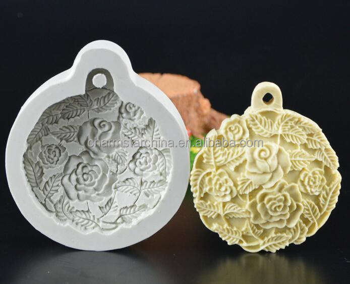 Silicone Soap Mold Flower Pattern Rectangular Handmade Soap Making DIY Mould J/&S