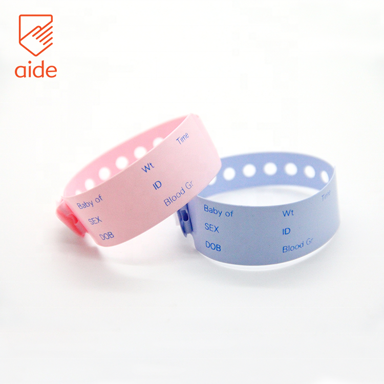 Customized Reusable Waterproof Super-soft PVC Child-resistant Wristbands
