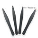 Stainless Steel Tweezer Hair Removal Manufacturer Stainless Steel Tweezer Set Private Label Black Custom Color Hair Removal for Eyebrow