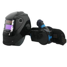 welding mask with helmet respirator