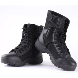 Military Army comfortable  Police Shoes black with all sizes