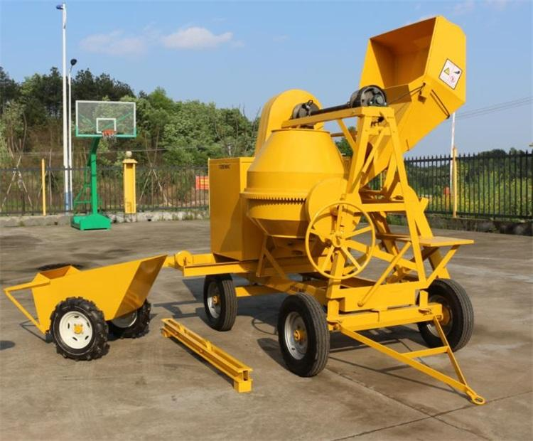 best price of new type concrete mixer machine with pump for hot sale