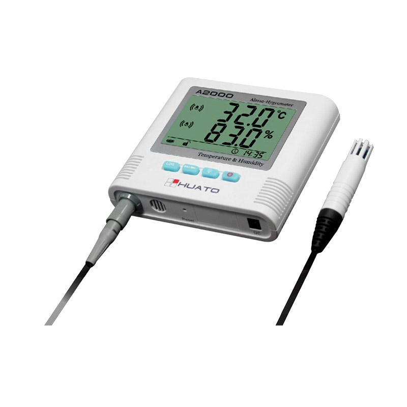 biology&medicine and food use digital alarm thermometer hygrometer temperature humidity sensor