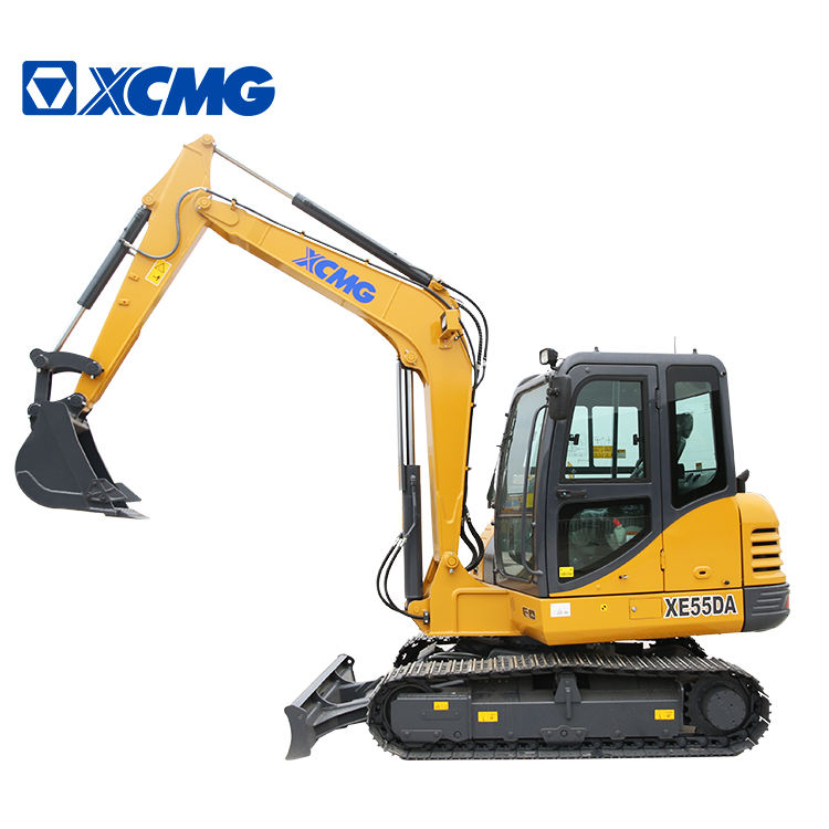 XCMG 5.5 ton 0. 2cbm XE55DA hydraulic small crawler excavator machine prices