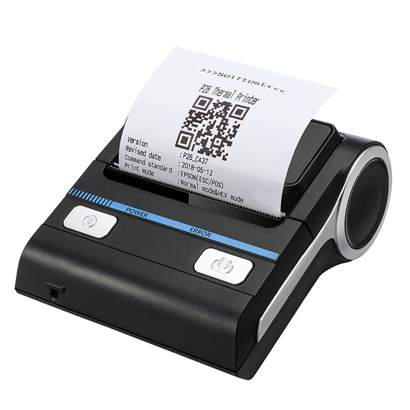 mini POS pocket bluetooth thermal devices 80mm receipt printer with sdk/driver MHT-P8001