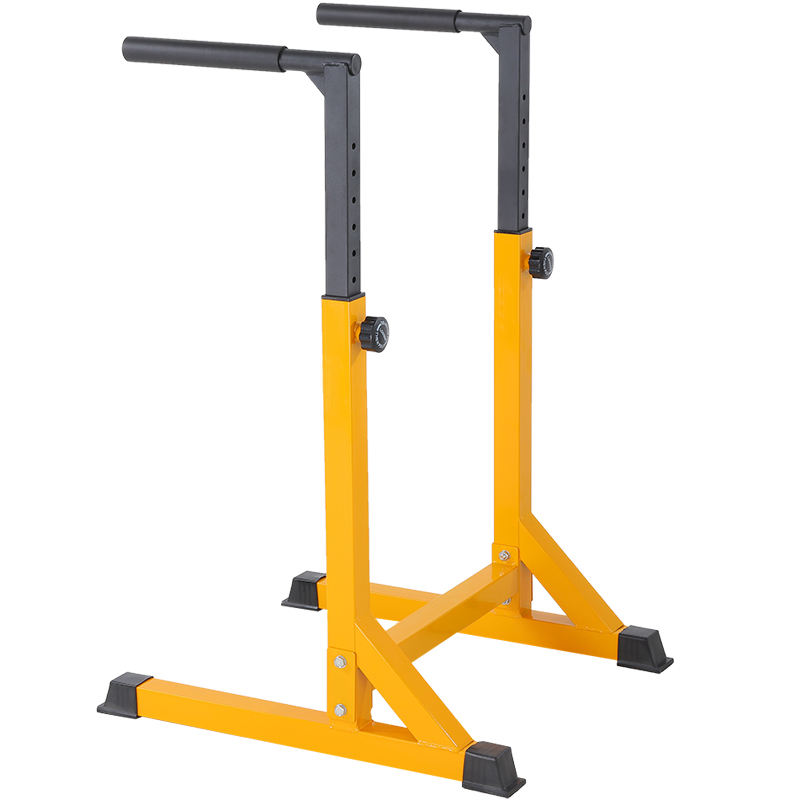 Functional training station parallel bar dip station pull up assist bar