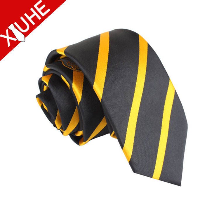 China Manufacturer Cheap School Ties Twill Jacquard Neckties for Men