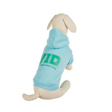 china manufacturer simply high quality blue polyester cotton sport pet product dog clothes dog hoodie