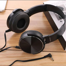 New High quality Wholesale metal  T-450 Wired earphone bass Headset Stereo sound Headphone Sports Headphone with Mic