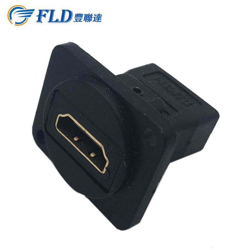 With Free Sample [ Plug Dc Connectors ] Plug Connector Black Socket And Plug HDMI To HDMI Dc Connectors