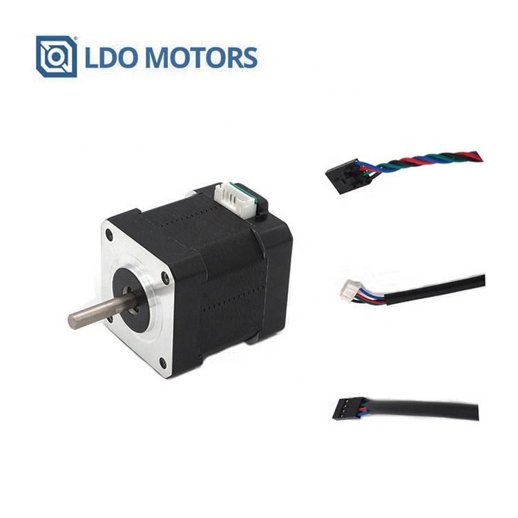 LDO Nema 17 hybrid 3D Printer Stappenmotor met Geïntegreerde Connector