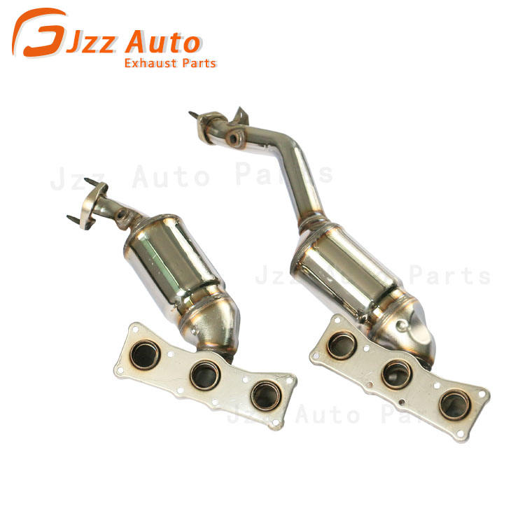 2001-2006 BMW X5 3.0L Front Manifold Catalytic Converters 2 PIECES PAIR