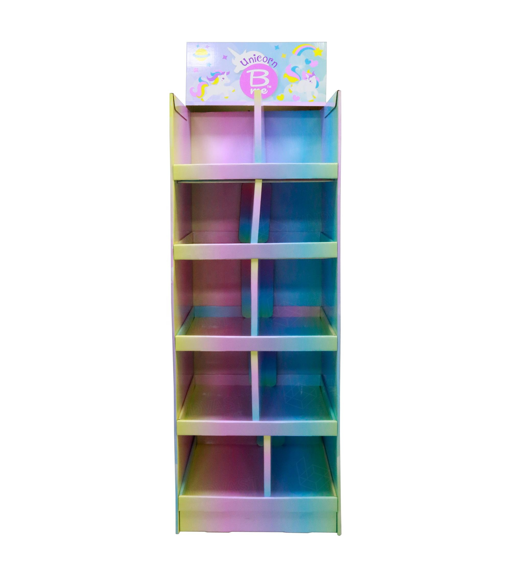 unicorn apparel pallet display tshirt women cardboard display baby clothes store display rack india retail stores miniso caps