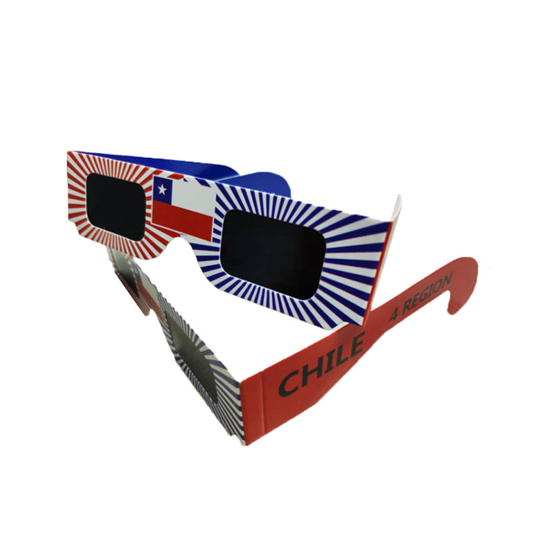 Factory Wholesale Cardboard Eclipse Glasses Logo Custom Paper Solar Eclipse Glasses