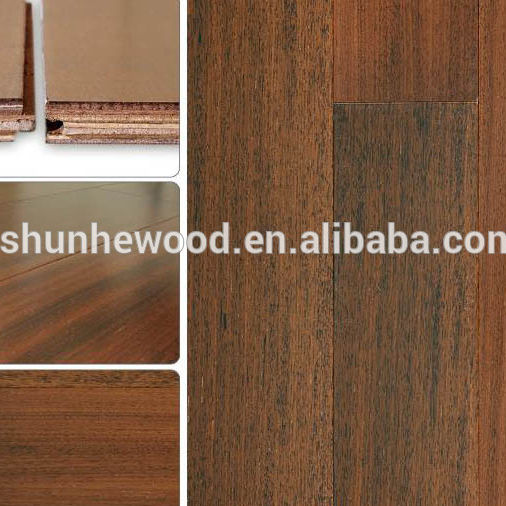 Merbau Commercial Engineered wood panel flooring pre-finished