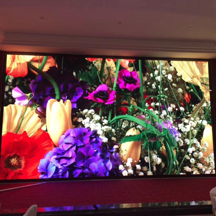 HD led tv screen flexi led P2.5 indoor magnetic front service Cinema 3d LED display