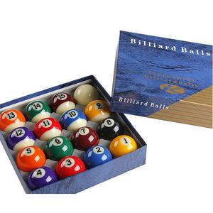 Durable and Good Quality Number 16 Pieces Billiard Ball Set