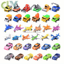 Promotional wholesale mini pull back car toy, variety of plastic model car for free gifts