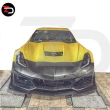 High Quality ZL1 Style For Corvette To Front bumper assembly