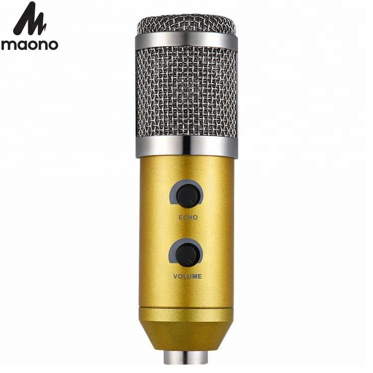 For skype Sound Cardioid music recording microphone