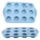 Wholesale silicone nonstick 9 cups muffin pan cup cake tray baking mold