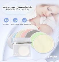 Washable Breathable Portable Bamboo Breast Nursing Pads