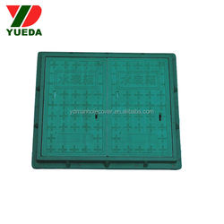 BS EN124 fiberglass electrical power manhole cover and frame